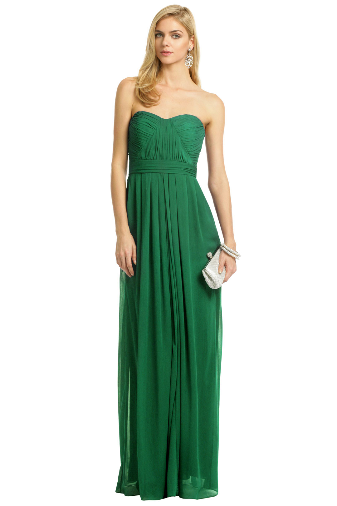 Rent the Runway - Badgley Mischka Flora Chiffon Gown