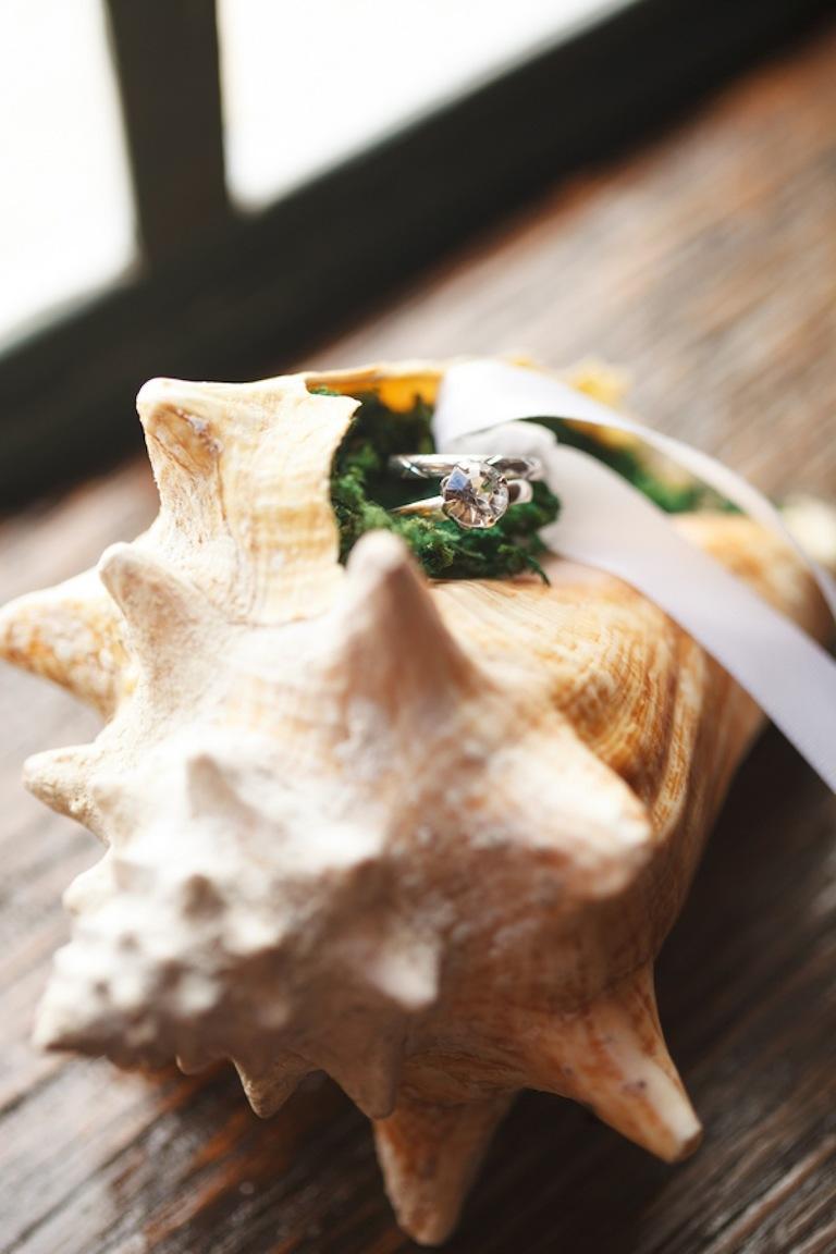 Seashell Wedding Ring