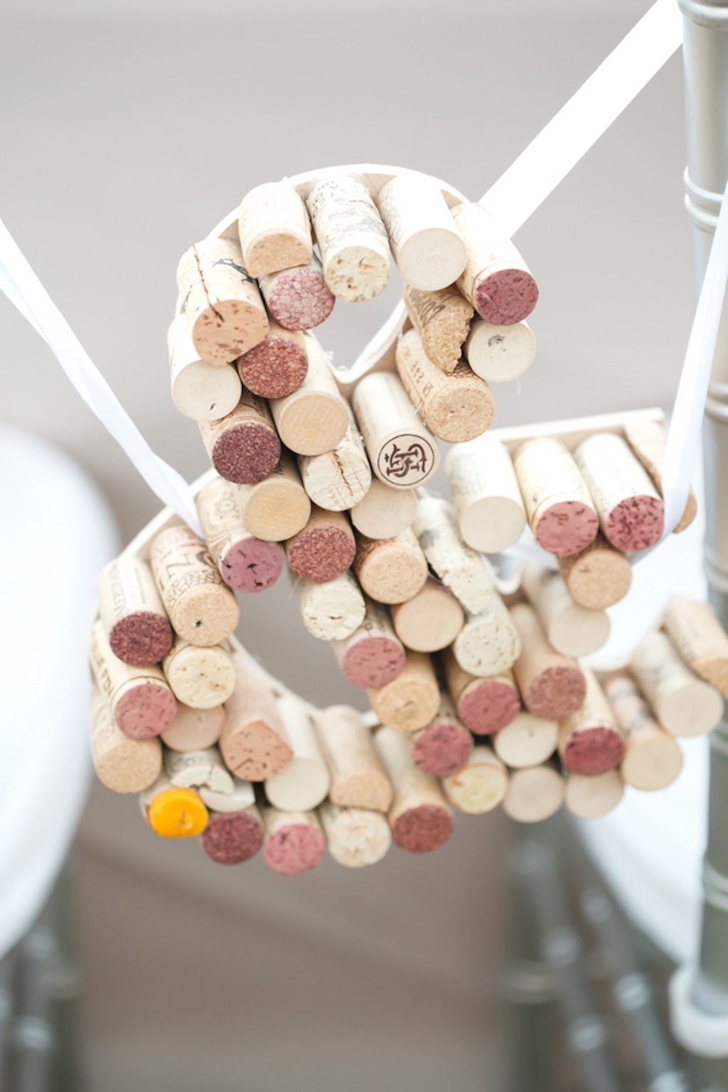 Wedding Sign Made from Wine Corks