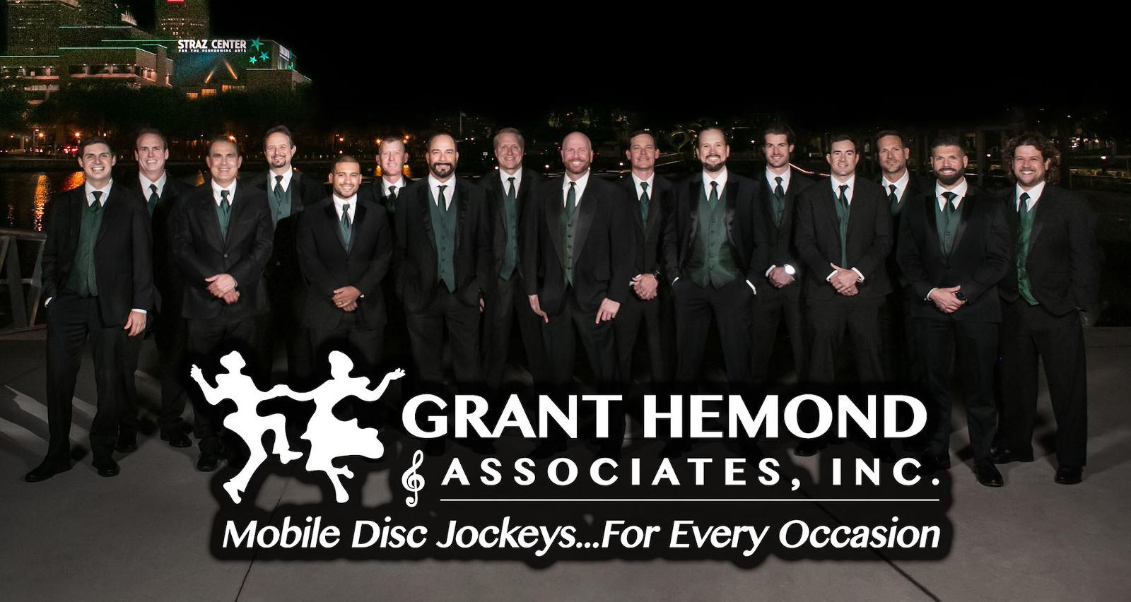 Grant Hemond and Associates   Tampa Bay Wedding DJ