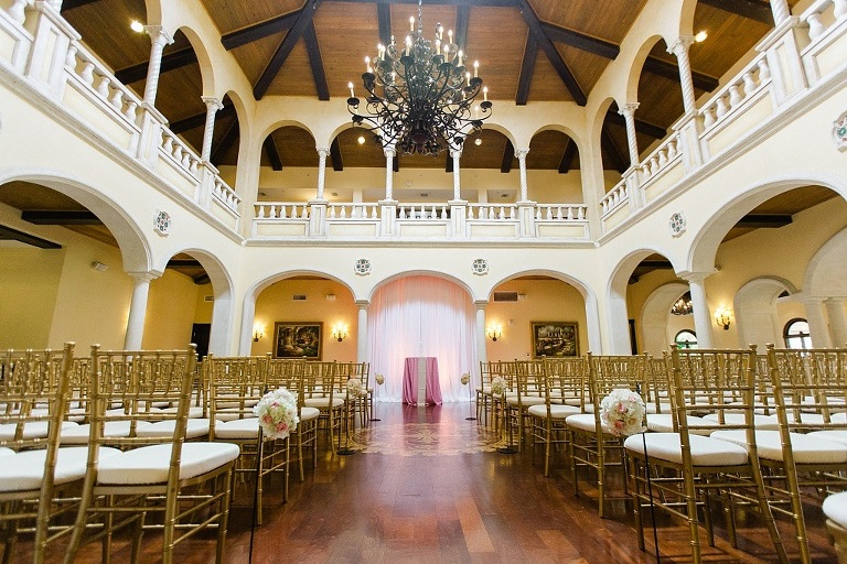 Avila Golf and Country Club Wedding Ceremony in Tampa