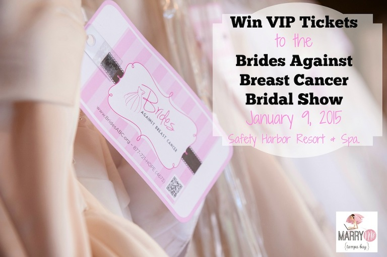 Tampa Bay Brides Against Breast Cancer Bridal Show - Safety Harbor January 2015