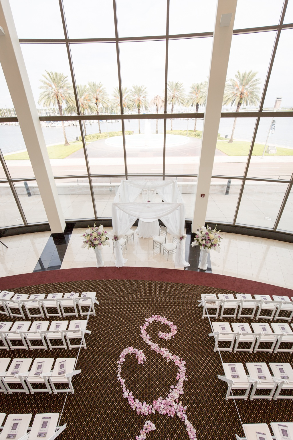 Mahaffey Theatre Waterfront Wedding Ceremony