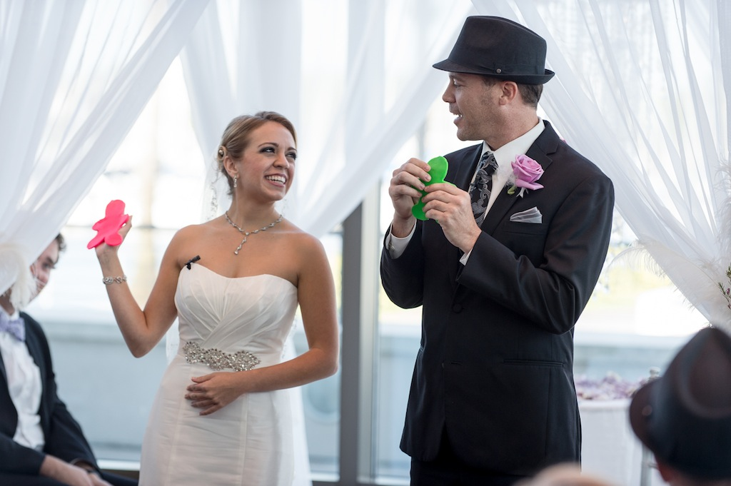 Bride and Groom Play-Doh Unity Wedding Ceremony