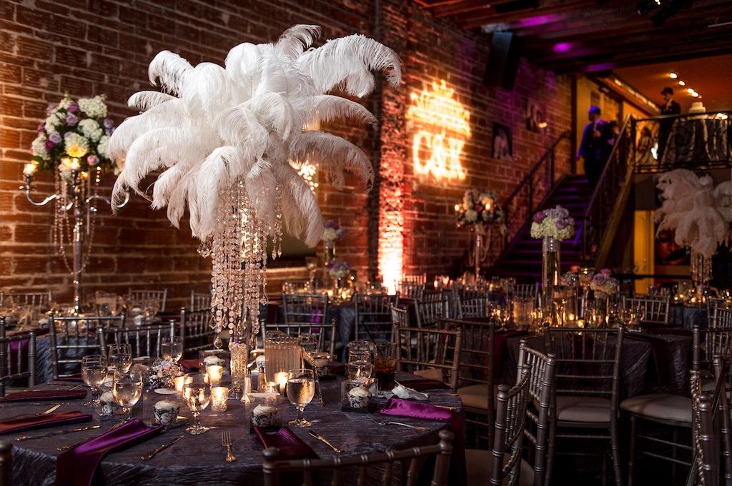 Nova 535 Wedding Purple Vintage 1920 S St Pete Wedding
