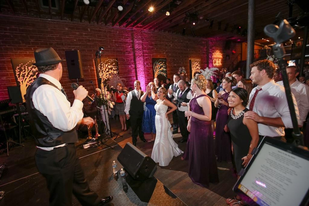Downtown St. Pete Wedding Reception