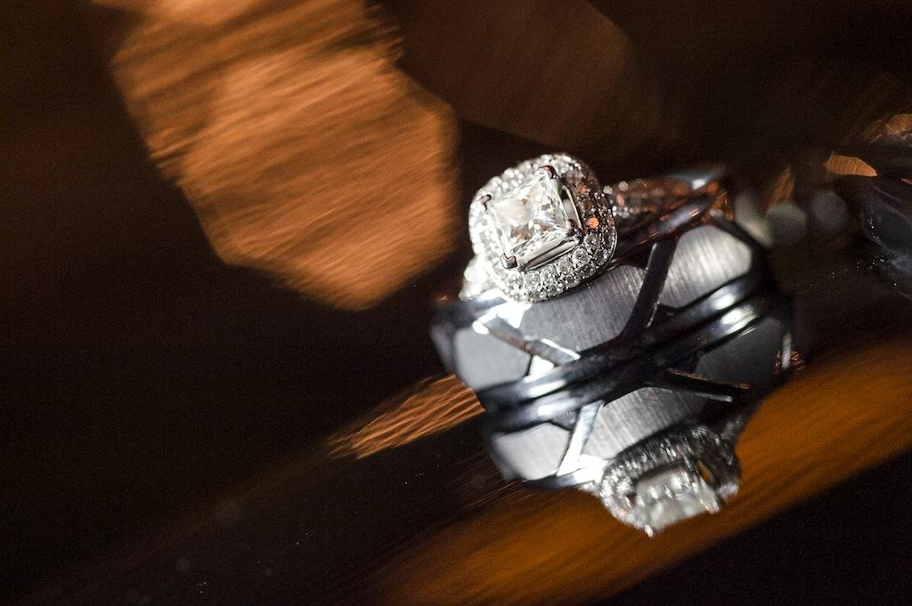 Wedding Ring Reflection