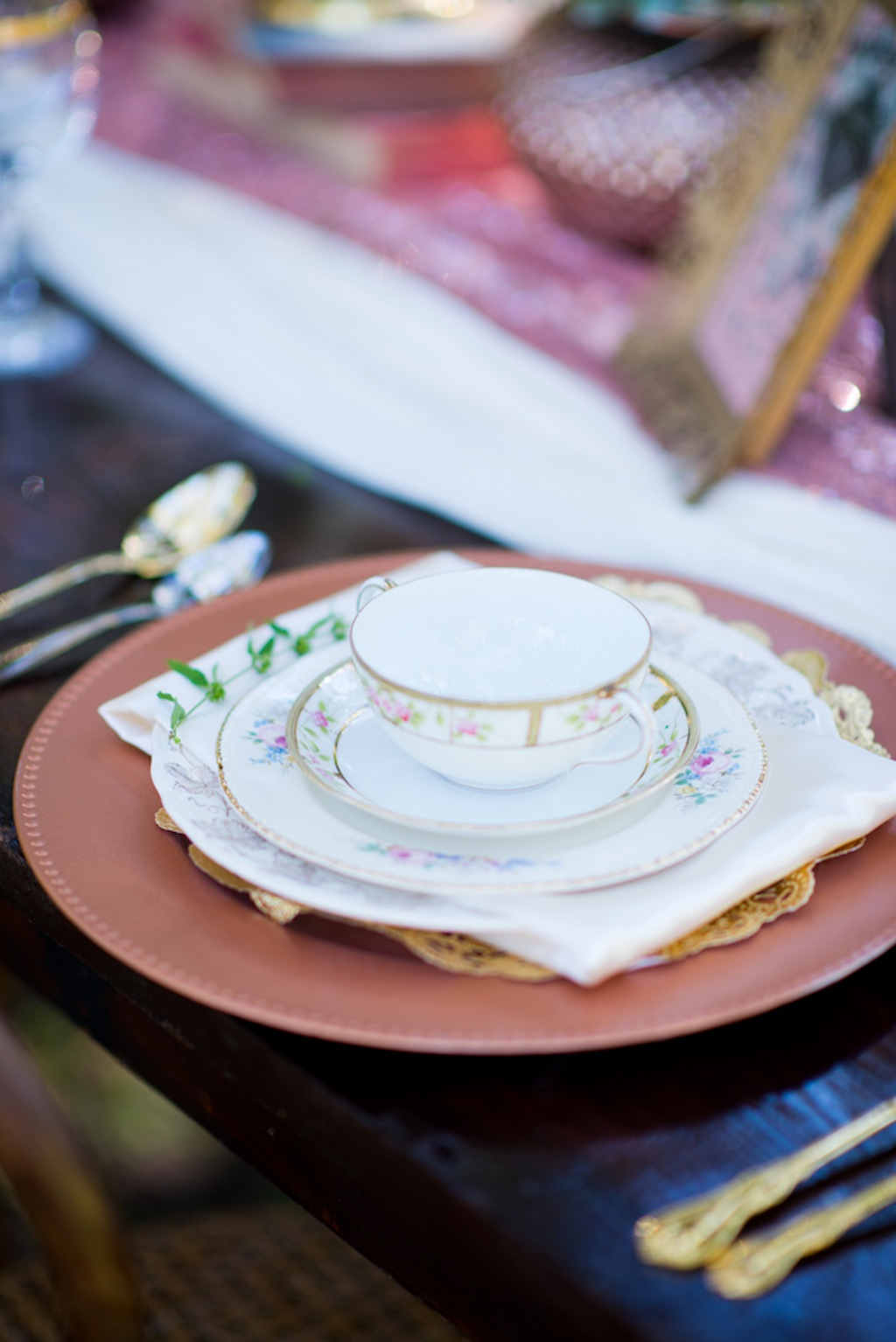 Vintage mis-matched Wedding China   Vintage, Garden Wedding Styled Shoot