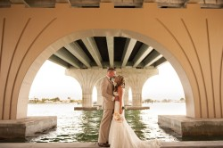 St. Petersburg, FL Bride and Groom on Wedding Day: Stephanie A. Smith Wedding Photography
