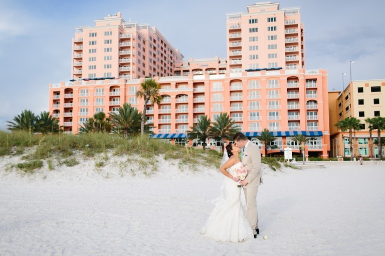 Hyatt Clearwater Beach, FL Destination Wedding