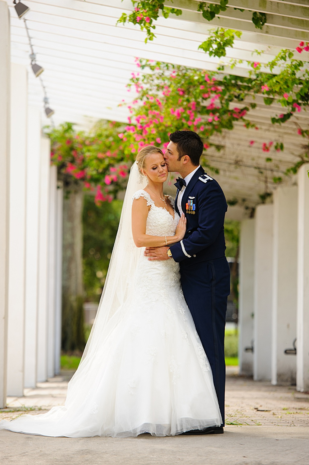 St. Petersburg Bride and Military Groom - Corey Conroy Photography