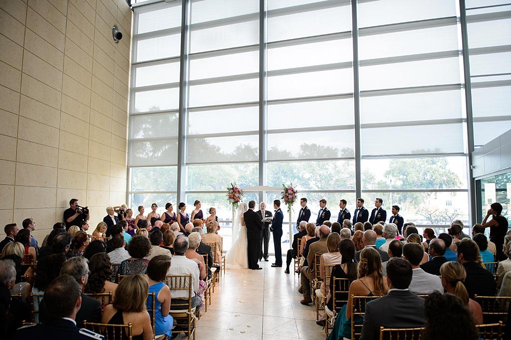 St. Pete Museum of Art Wedding Ceremony