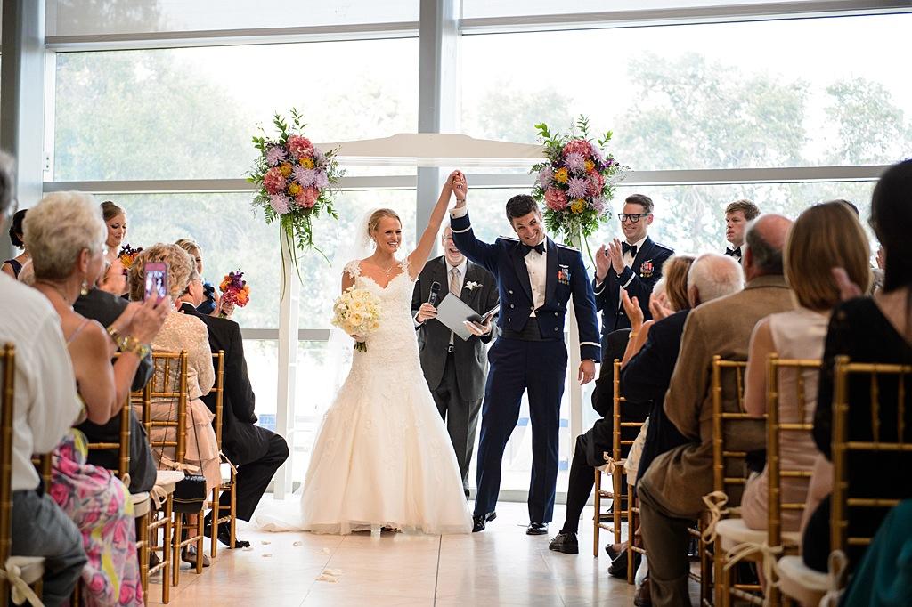 St. Pete Museum of Art Military Wedding Ceremony