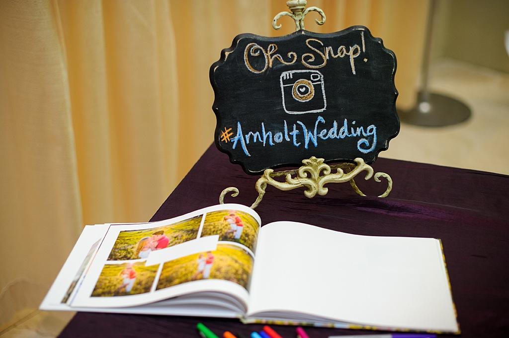 Wedding Instagram Chalk Sign
