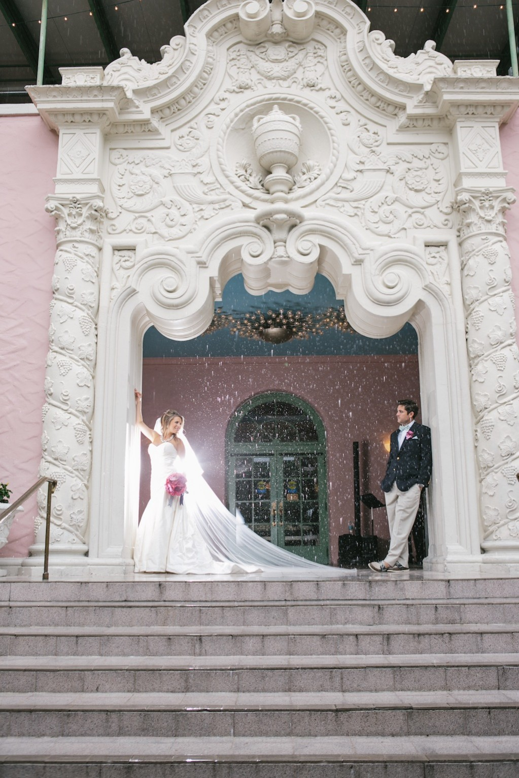 Renaissance Vinoy Bride and Groom on Wedding Day - Tampa Wedding Photographer Carrie Wildes Photography