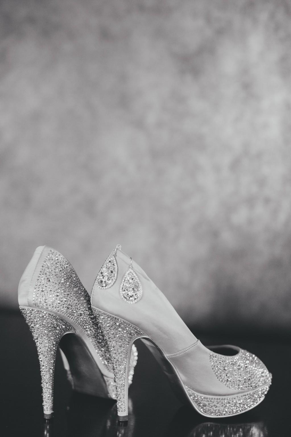Bling Rhinestone Sparkle Wedding Shoes
