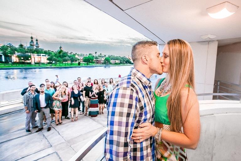 Surprise Downtown Tampa Wedding Proposal - Curtis Hixon