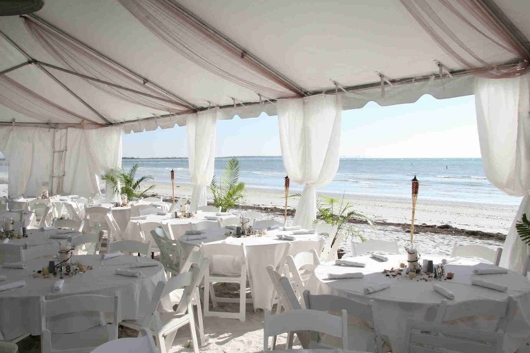 Honeymoon Island Beachfront Wedding Venue