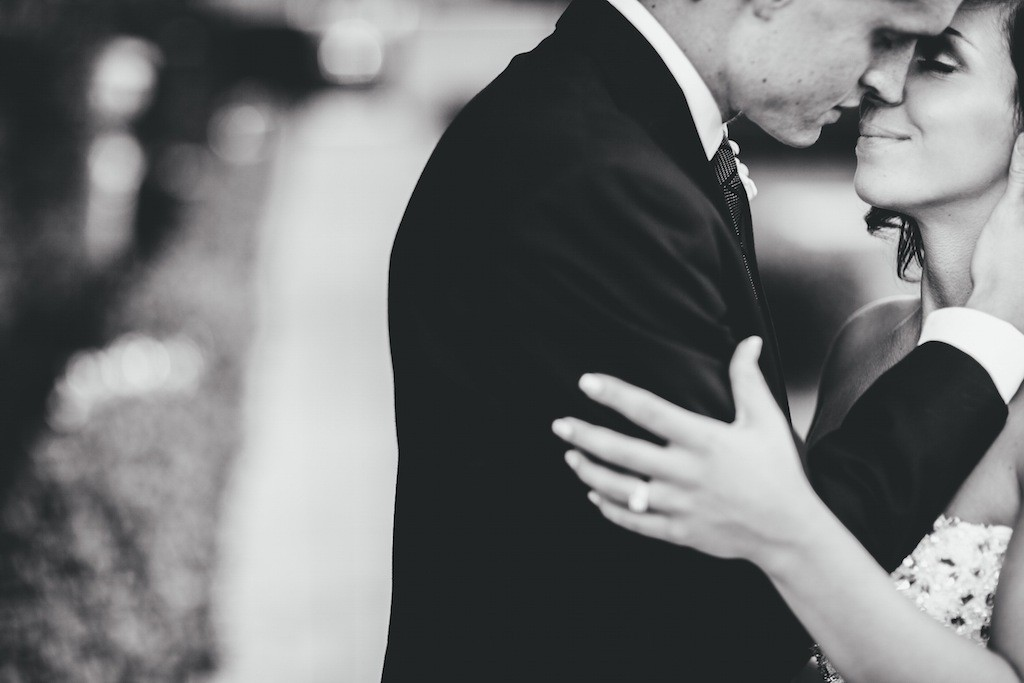 Palmetto Club Bride & Groom Wedding Portrait   Jake Ford Photography
