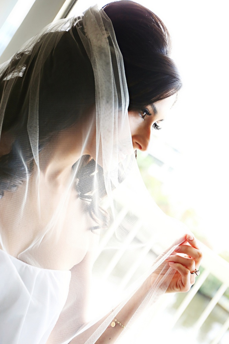 Bridal Portrait with Wedding Veil