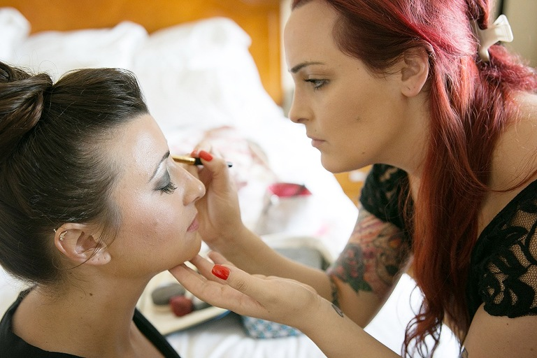 Getting Ready on Wedding Day - Bridal Makeup