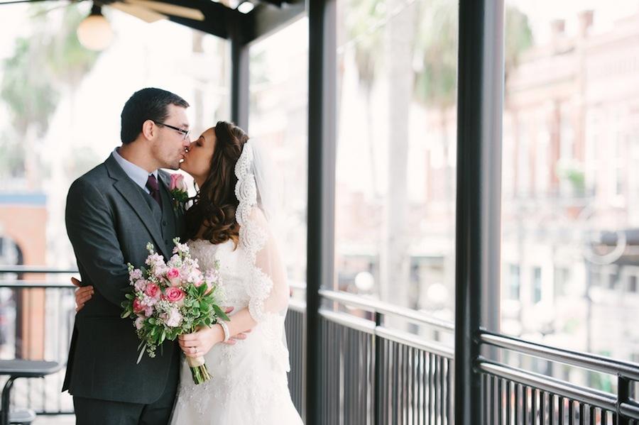 The Ybor City Wedding Bride & Groom Portrait | Marissa Moss Photography
