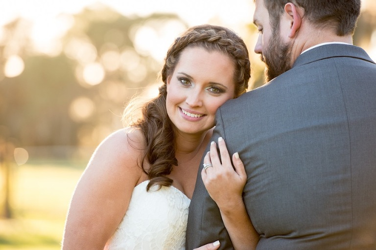 Rustic, Country Bride with Braided Hair | Jeff Mason Photography