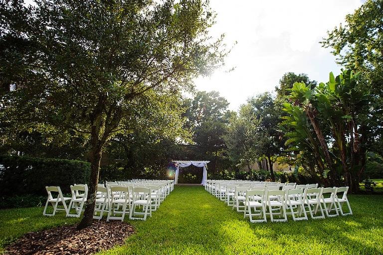 Burgundy & Gold Spanish Villa Wedding | Tampa Garden Club
