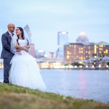 Davis Islands Garden Club Wedding Portrait   Lifelong Studios