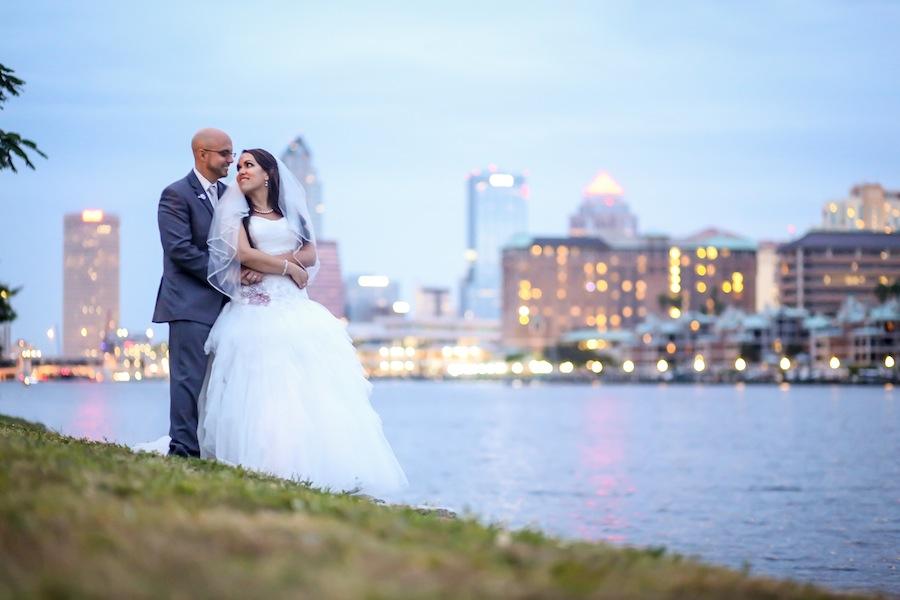 Davis Islands Garden Club Wedding Portrait | Lifelong Studios