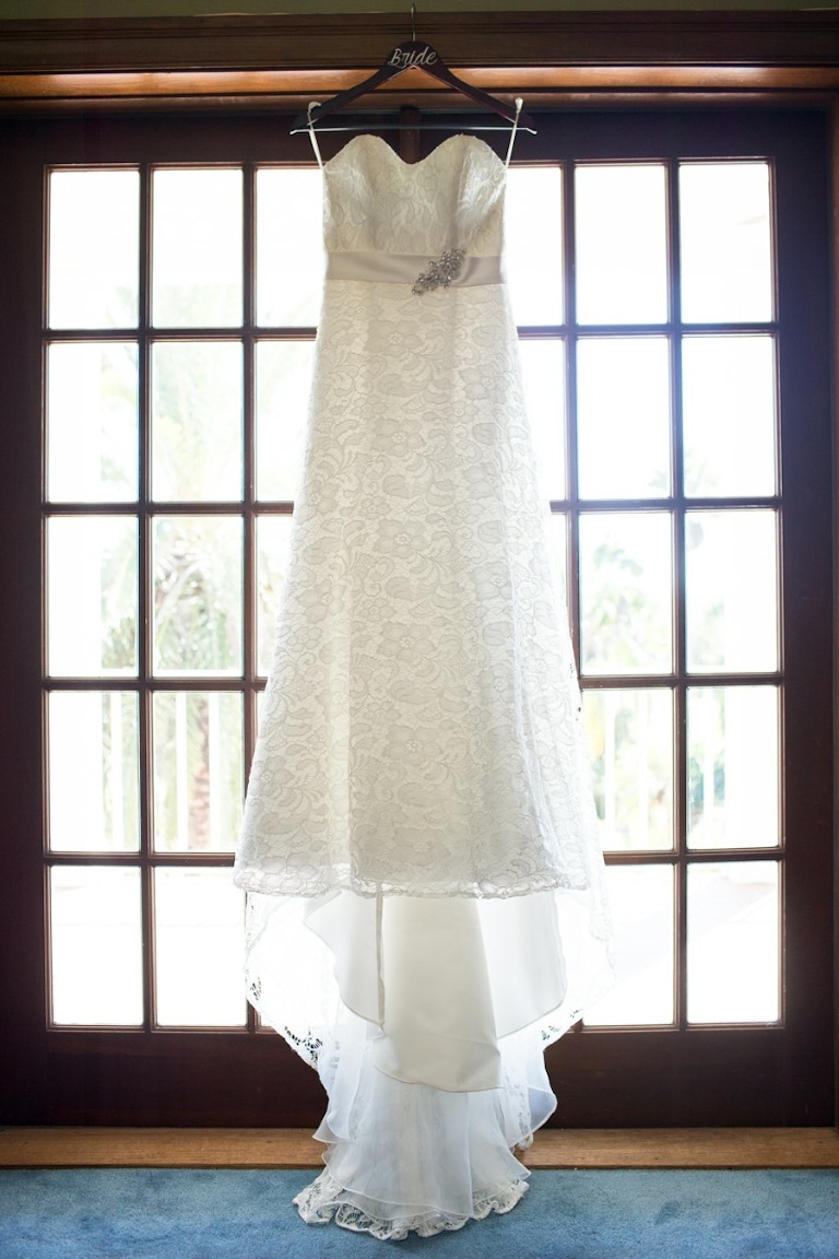 White, Sweetheart Lace Wedding Dress for Country, Rustic Wedding