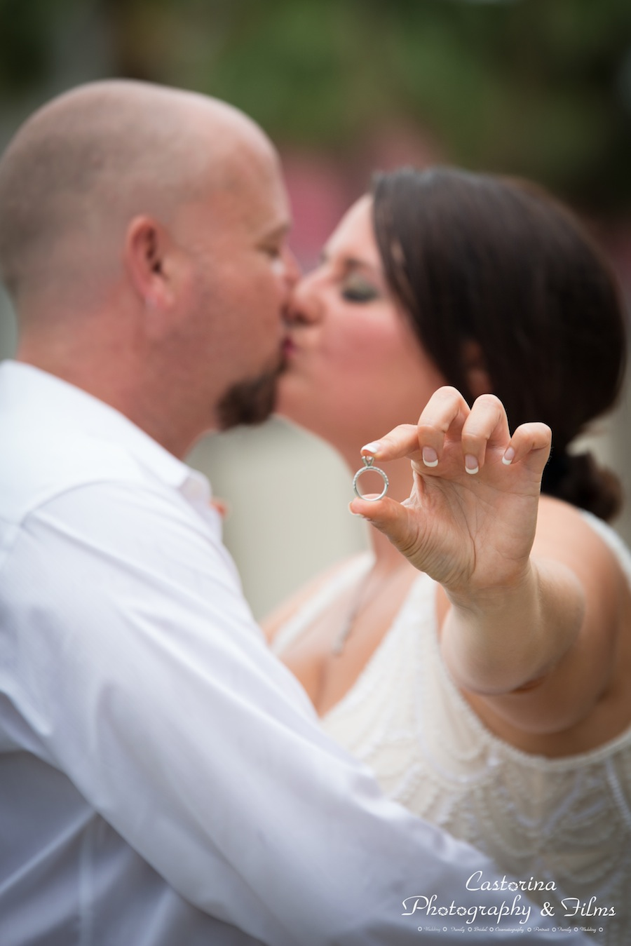 Tampa Bay Buccaneers Engagement Session at Raymond James Stadium | Tampa Wedding Photographer Castorina Photography