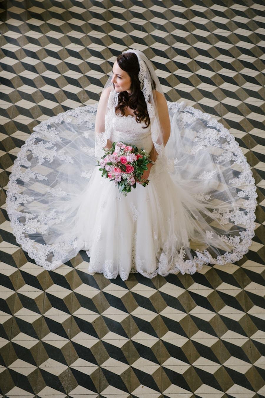Lace Wedding Dress | Italian Club Bride - Marissa Moss Photography