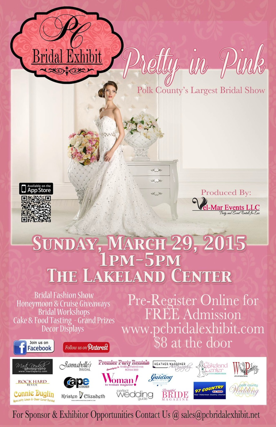 PC Bridal Exhibit Spring 2015 at the Lakeland Center | March 29, 2015