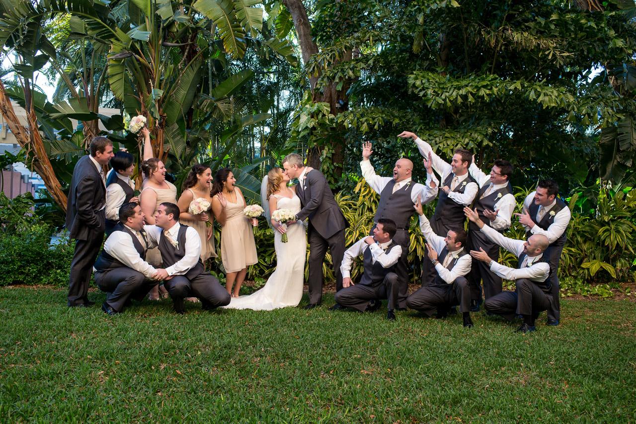 Wedding Party Portrait | Jeff Mason Photography