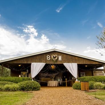 Cross Creek Ranch Barn Wedding Reception Venue