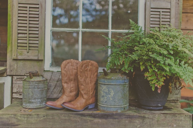 Bride Cowboy Boots Wedding Shoes
