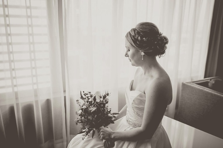 Bridal Portrait on Wedding Day | Kristen Marie Photography