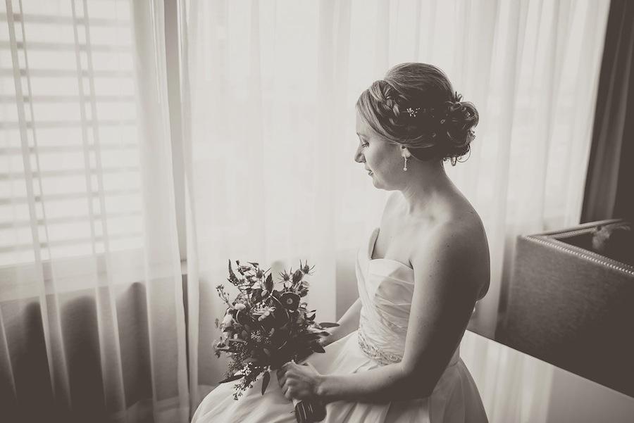 Bridal Portrait on Wedding Day   Kristen Marie Photography