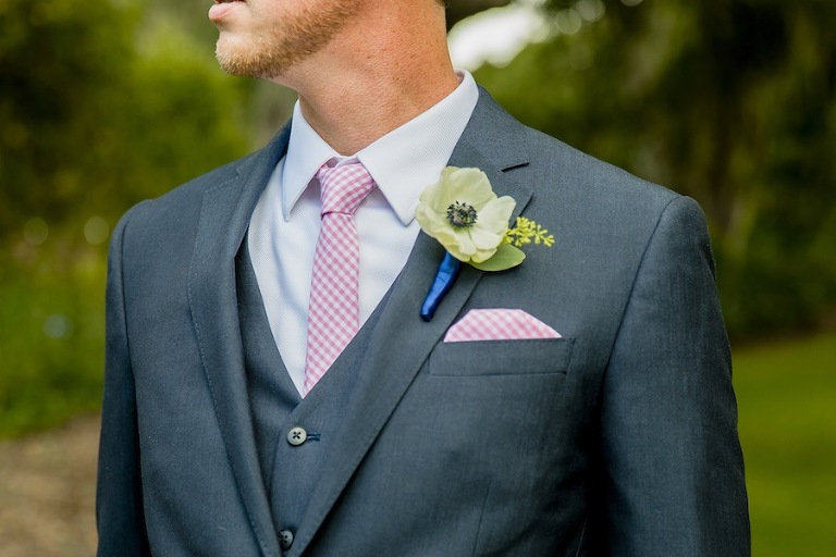 Grey Groomsmen Suit