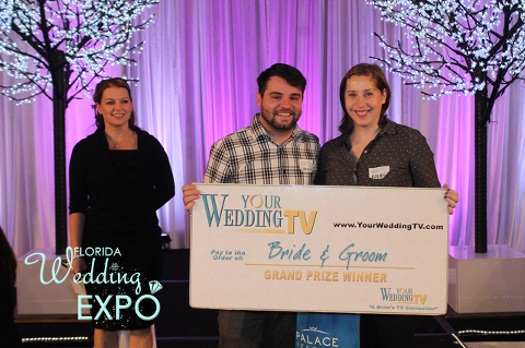 Honeymoon Winner | Florida Wedding Expo | Sunday, April 12, 2015, Embassy Suites USF Tampa