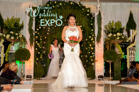 Wedding Dress Fashion Show \ Florida Wedding Expo | Sunday, April 12, 2015, Embassy Suites USF Tampa