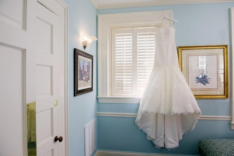 White, Sweetheart Lace Wedding Dress