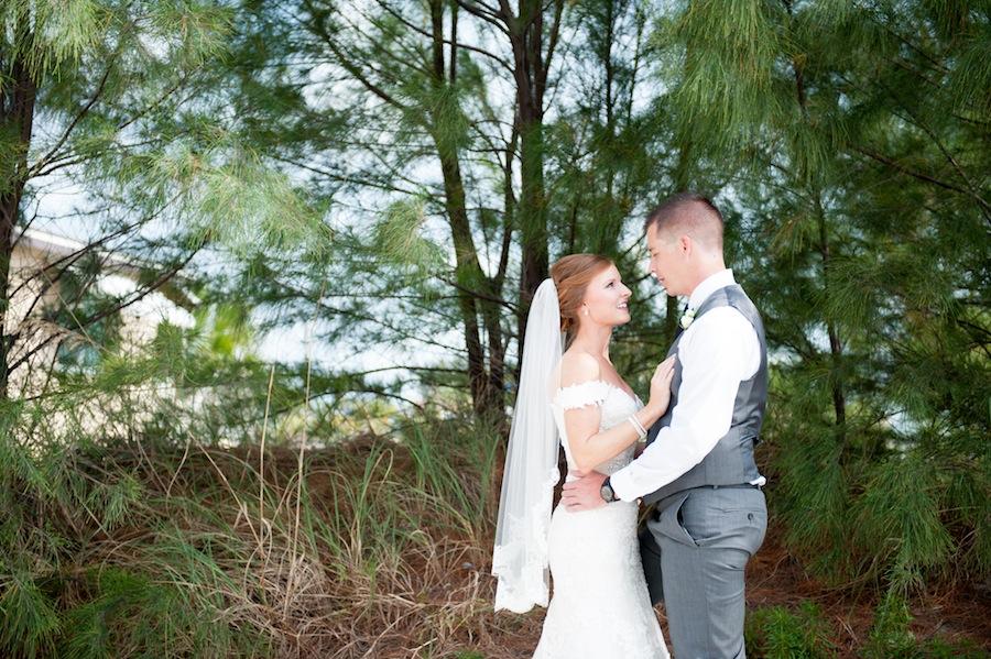 Bride and Groom Wedding Portrait | St. Pete Wedding Photographer Essentia Photography
