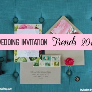 Wedding Invitation Trends 2015   Tampa Bay Wedding Stationary
