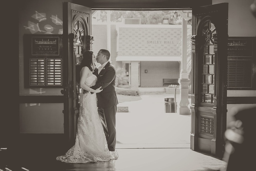 South Tampa Wedding Portrait | Tampa Wedding Photographer Kristen Marie Photography