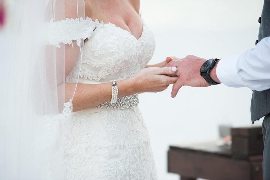 Wedding Ring Exchange | St. Pete Beach-Treasure Island Wedding