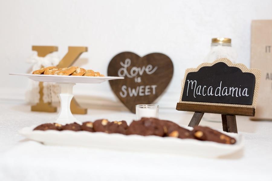 Wedding Dessert Cookie Table