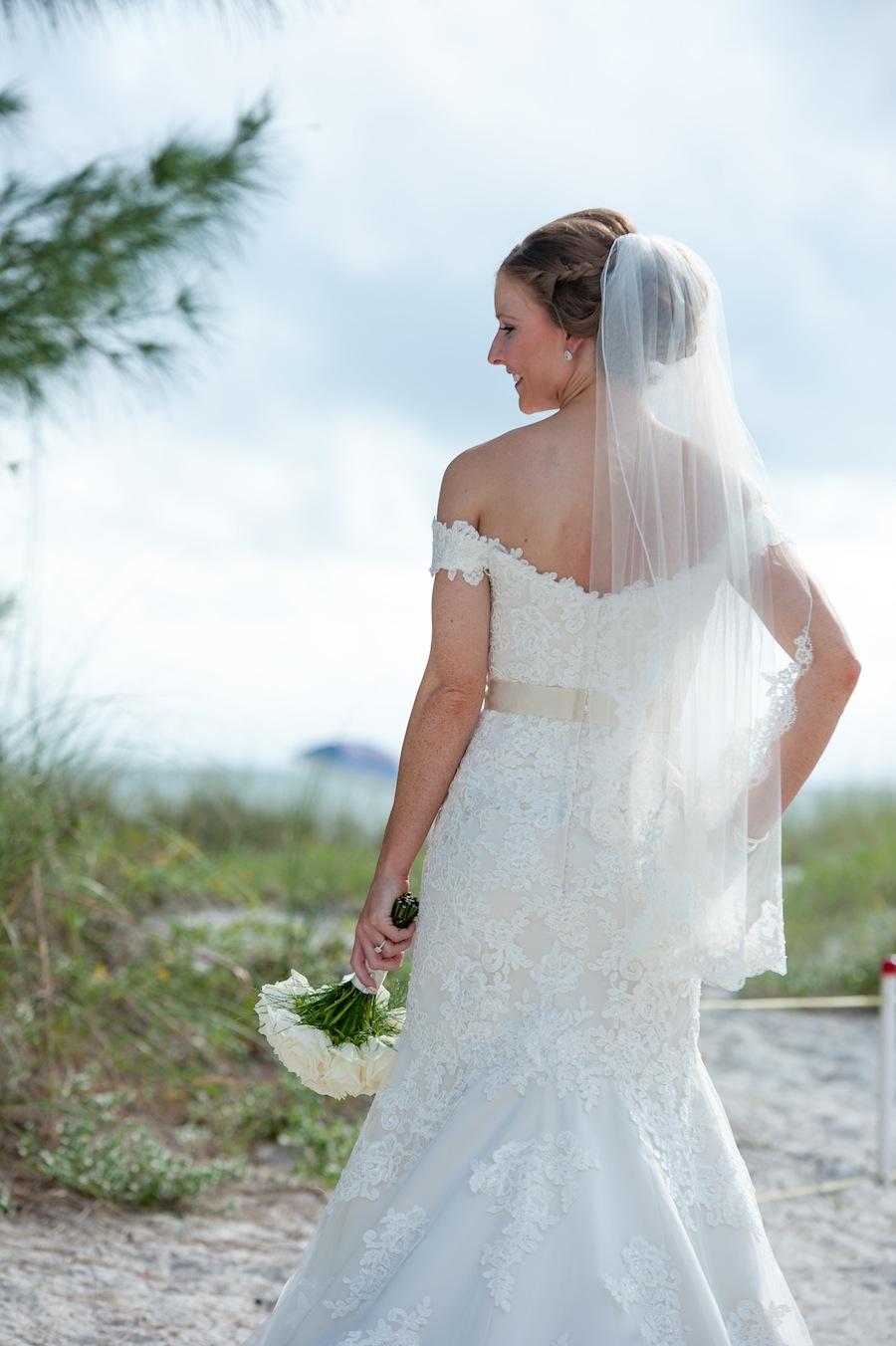 Beach Bridal Portrait | St. Pete Wedding Photographer Essentia Photography