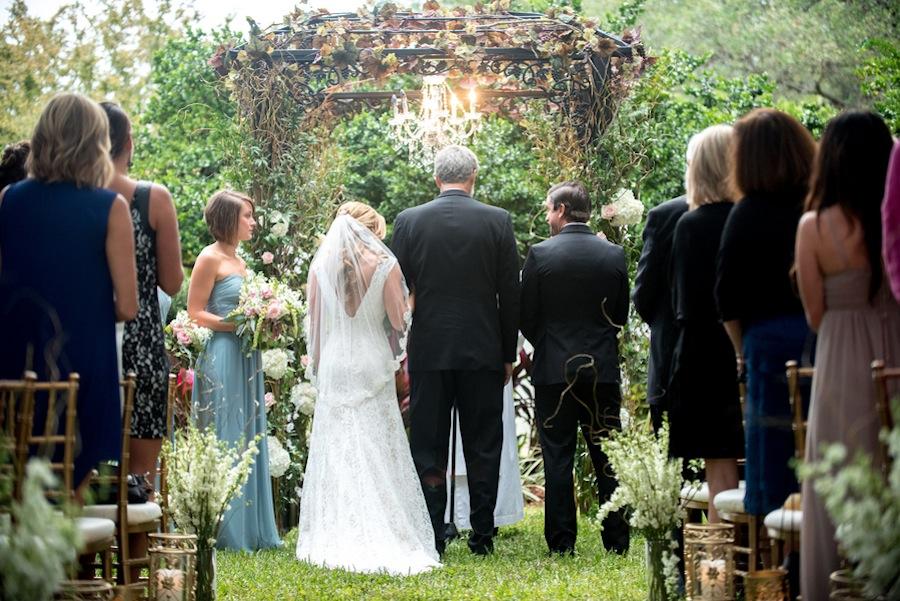 Secret Garden Inspired Wedding   Tampa Garden Club Wedding